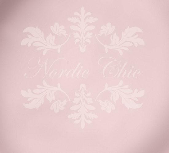 Nordic Chic® Kalkmaling Baby Rose