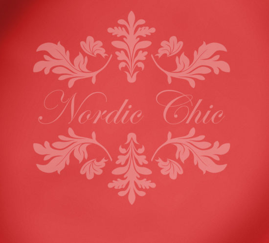 Nordic Chic® Kalkmaling Christmas Red