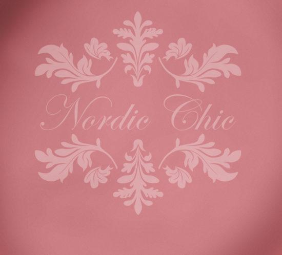 Nordic Chic® Kalkmaling Rosy Posy
