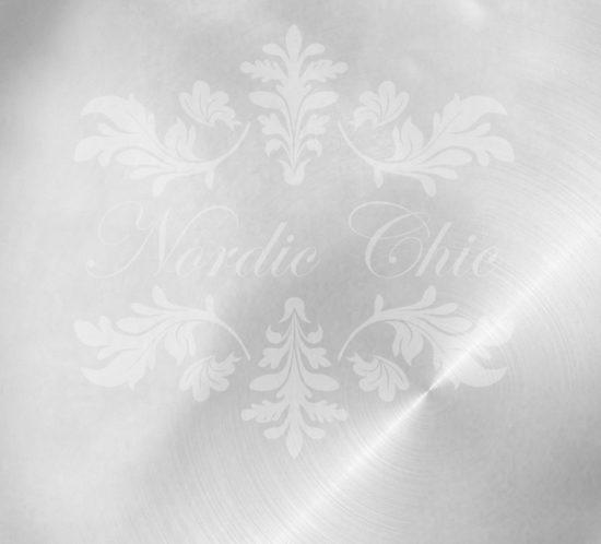 Nordic Chic® Kalkmaling Silver Pearl